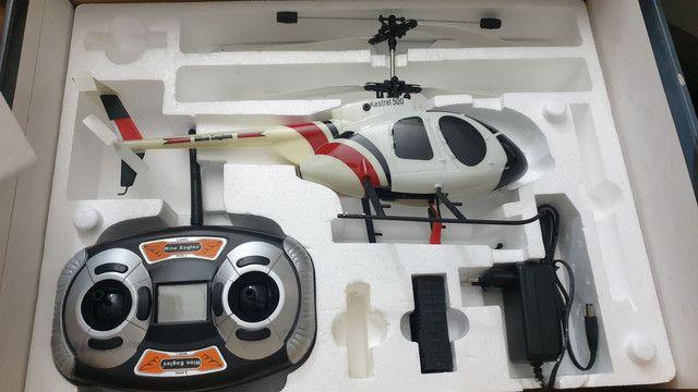 Helicóptero controle remoto 4 canais Nine Eagles Kestrel 500 4 canais - Foto 4