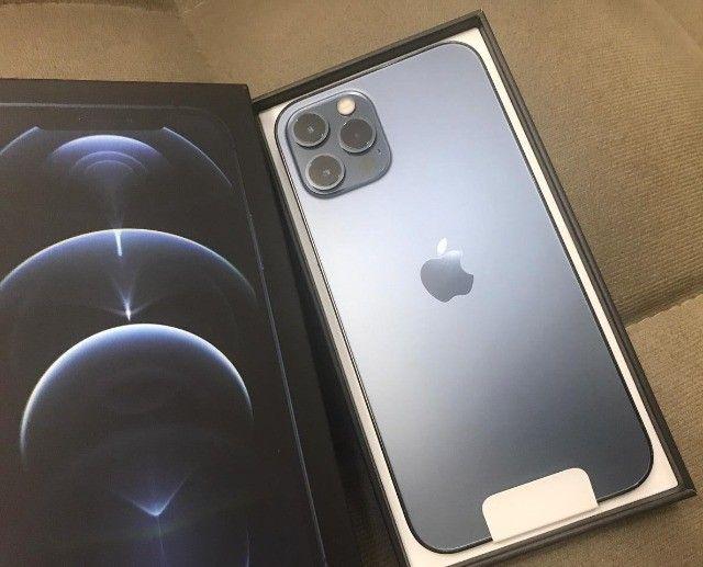 Iphone 12 PRO Novo, lacrado na caixa, nota fiscal - Foto 2