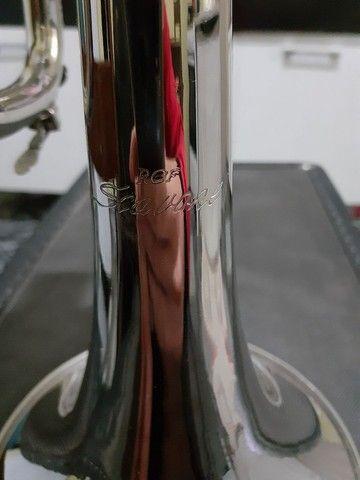 Trompete sib scavone impecável  - Foto 3