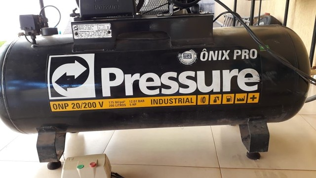 Compressor profissional 4.000 - Foto 2