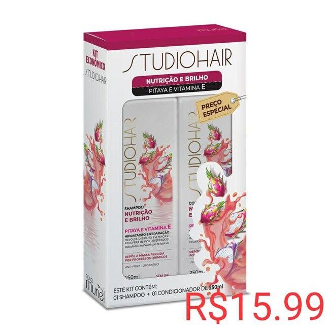 Promoção kit shampoo e condicionador R$ 10