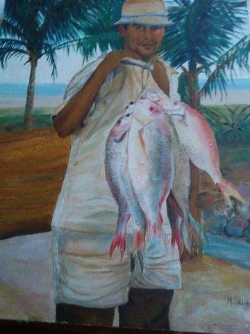 Quadro Pescador.