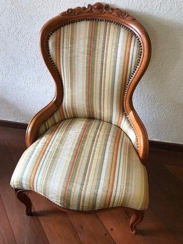 Cadeira Luís XV Vitoriana  - Foto 3