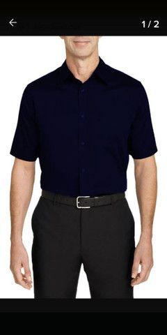 7 Camisas social Mangas curtas e longas - Foto 4