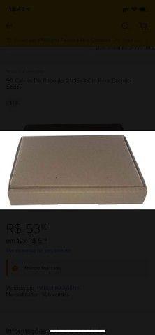 90 Caixas De Papelão 21x15x3 Cm Para Correio / Sedex - Foto 3