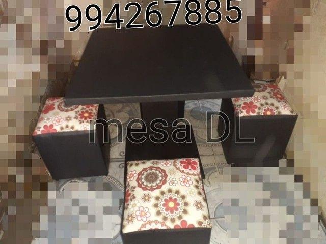 Promoção de mesas ,sala de janta APARTI de 270 Leia. - Foto 4