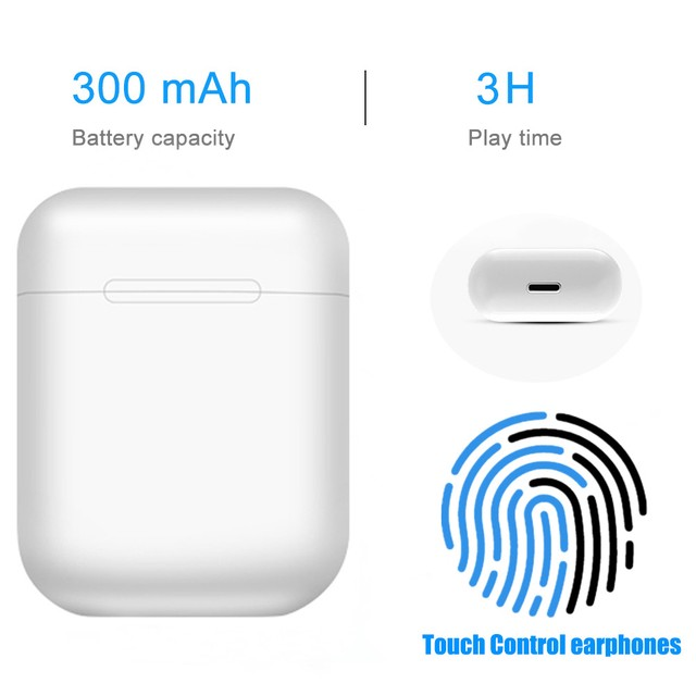 Fone Bluetooth i12 TWS - 2021 - iOS/ Android  - Foto 3