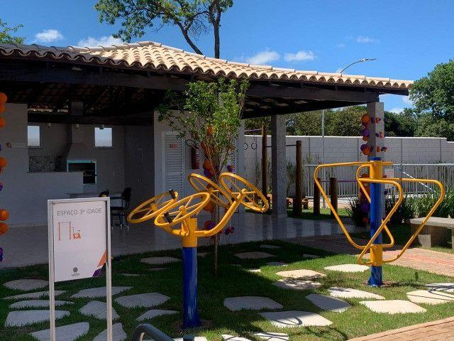 "Alugo apartamento ""novo"" no condomínio "" Jardim de Madri - Bloco com elevador - Foto 4"
