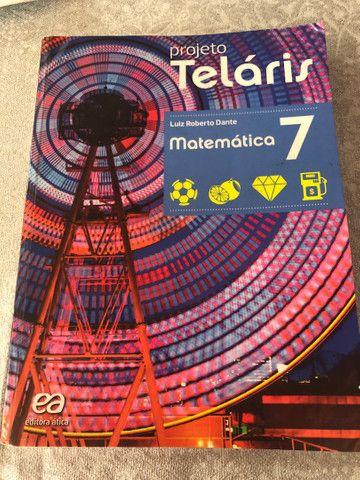 Livro em ótimo estado - Projeto Temaris Matemática 7 ano