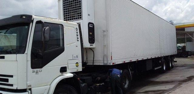 Cavalo mecânico e carreta frigorífica ( vendo conjunto ou separado - Foto 2