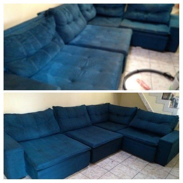 Sofá com MAL CHEIRO ??? Limpeza de sofá !!! - Foto 2