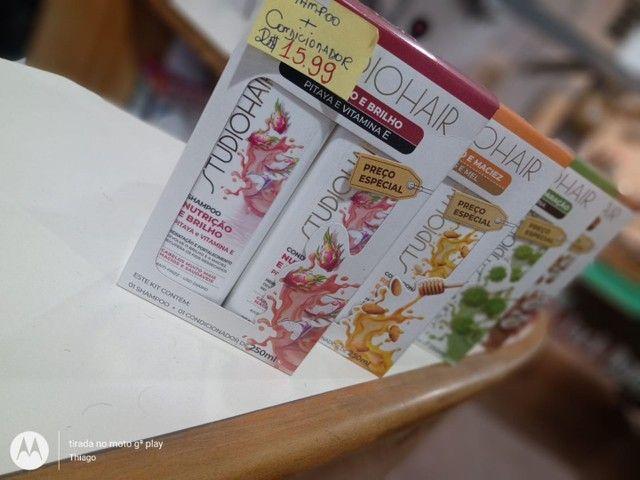 Promoção kit shampoo e condicionador R$ 10 - Foto 3