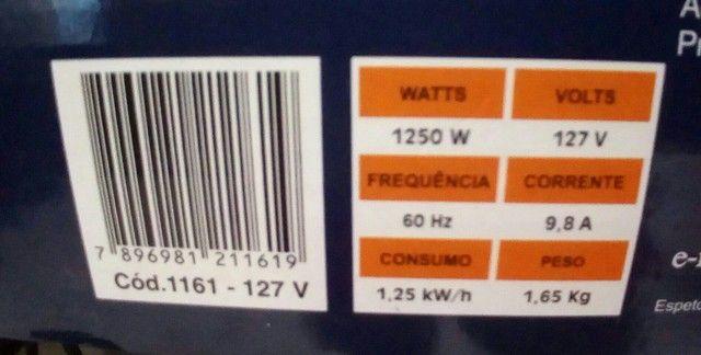 Vendo churrasqueira elétrica nova 127v com garantia - Foto 3