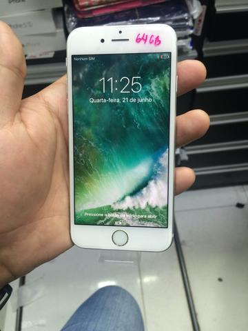 IPhone 6s 64GB Silver Semi novo
