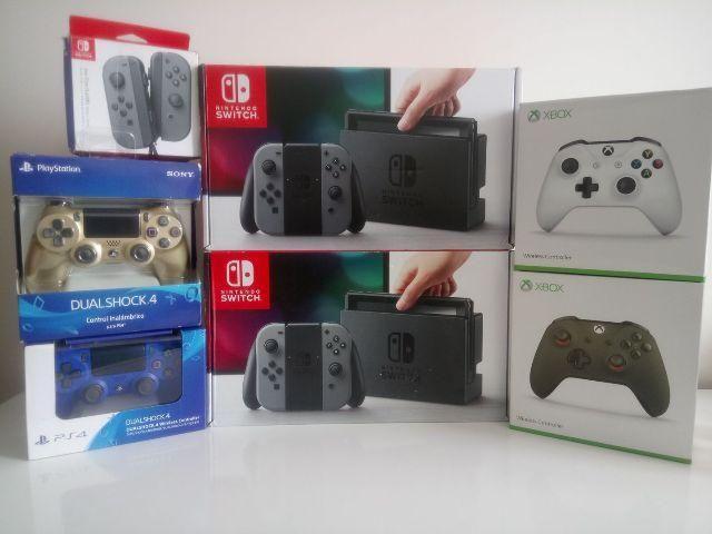 Nintendo switch novo é na Lobato Games