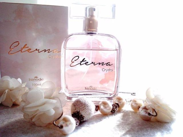 Perfume Eterna Cristal Hinode 100 Ml