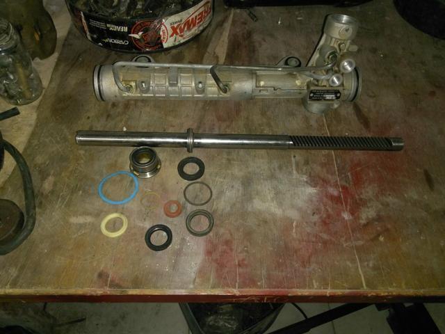 Manutenção e reparo caixa de direção