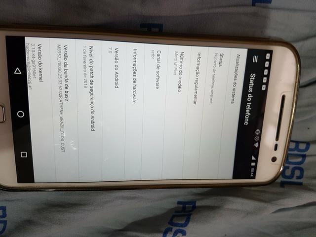 Vendo Moto G4 Plus em perfeito estado