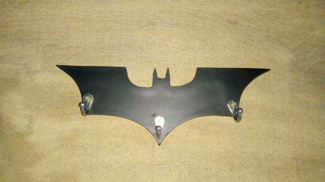 Porta chaves e cabideira do Batman