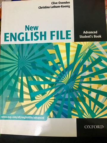 Livro New English File Elementary Student Book Oxford NOVO