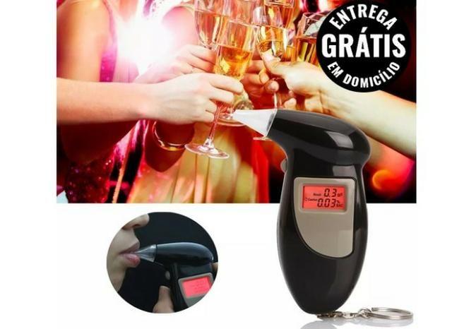Bafômetro Portátil Digital Chaveiro Eletrônico Teste Nível de álcool - entrega grátis