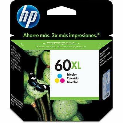 Cartucho original HP 60XL de 15,5ML