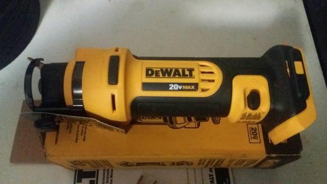 Recortadora drywall 20v max - Dewalt DCS551b - Foto 3