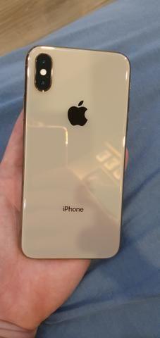 Iphone xs 64gb dourado rose