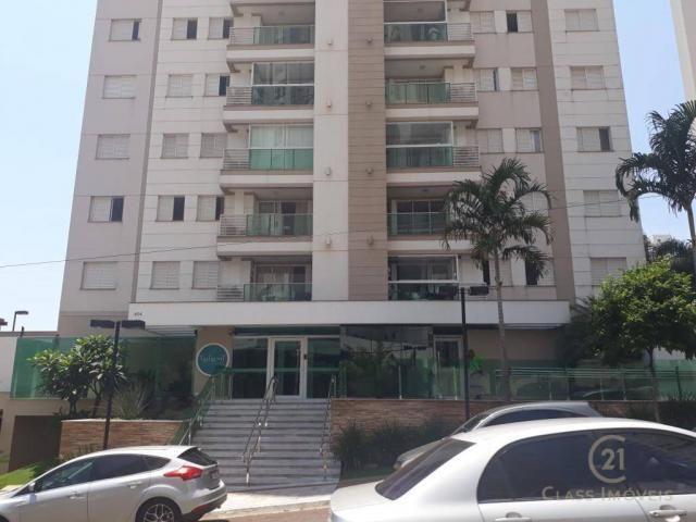 Apartamento com 3 dormitórios à venda, 80 m² - gleba palhano - londrina/pr