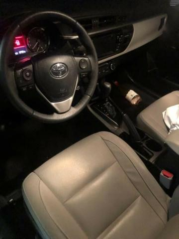 Corolla Xei 2.0 Flex - Carro de Mulher - Estado de ZERO - Consigo Financiamento - 2017 - Foto 2