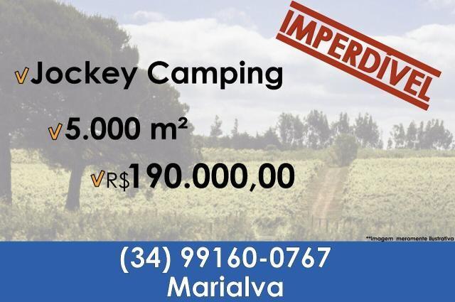 Vendo terreno no jockey camping