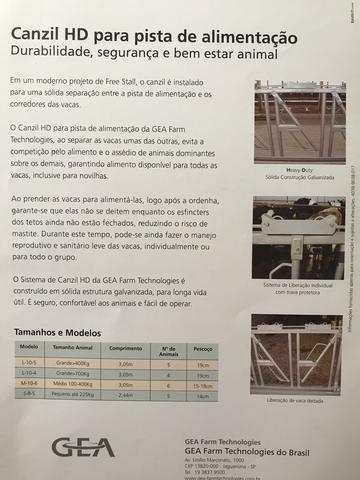 Canzil galvanizado 4 lugares para vacas - Foto 6