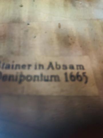 Violino jacobus stainer 1665 - Foto 6