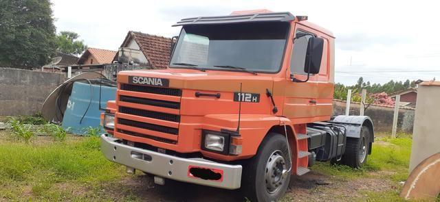 Scania 112H Laranja 1984 - Foto 2