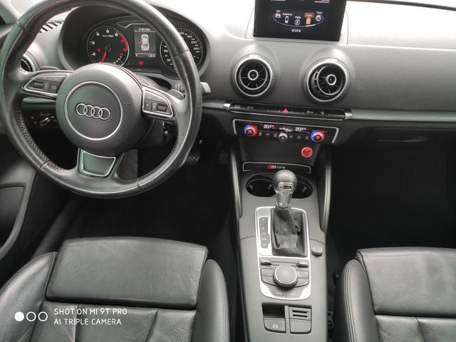 "Audi A3 Sedan 2015 1.8 Ambition 1.8 TFSI 180cv Teto solar ""raridade"" - Foto 16"