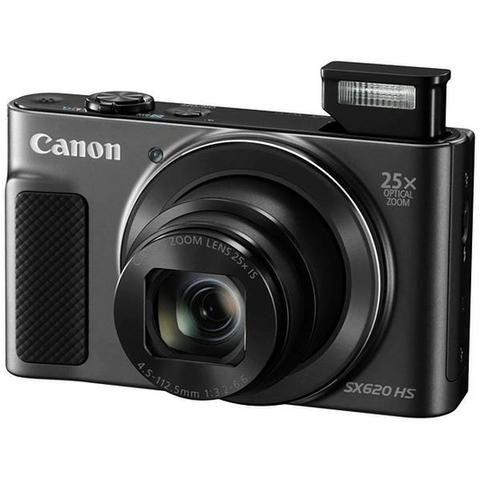 Câmera Digital Canon PowerShot SX620 HS Full HD 20.2MP WiFi/NFC Preto - Foto 2