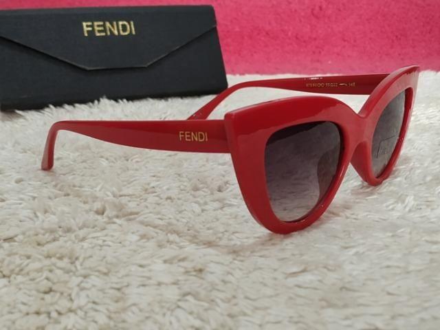Óculos Fendi Vermelho Feminino - Bijouterias, relógios e acessórios ... 206f1b0bea