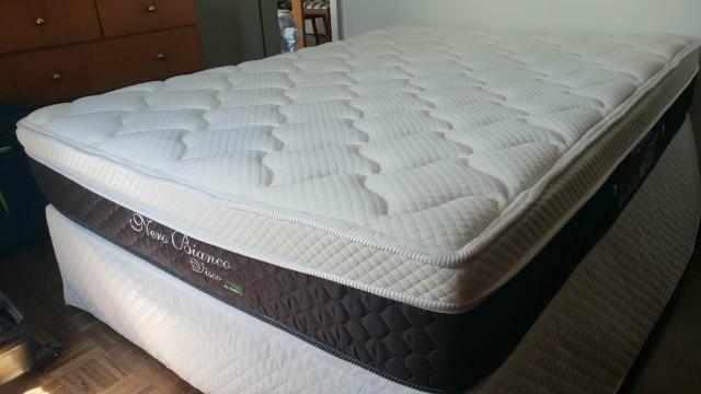 Vendo cama Box casal + colchão = Excelente preço