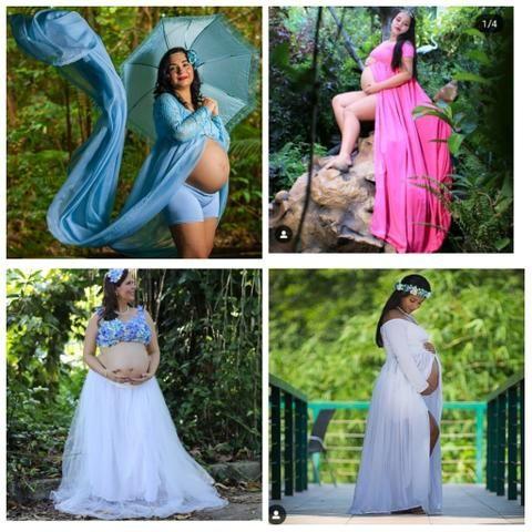 Aluguel roupas para grávidas - Foto 2