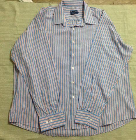 5f0b39ae0f Camisa social masculina manga longa tamanho 6 - Roupas e calçados ...