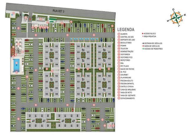 Apartamento no Setor Perin Gran Vitta com Elevador Ent. R$ 500,00 e escritura Grátis - Foto 15