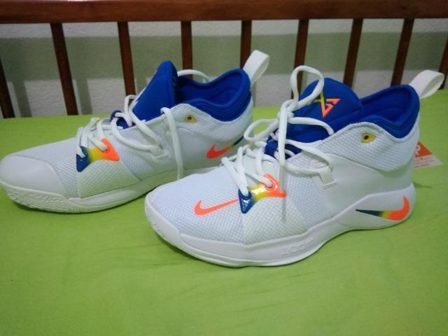 best cheap 5cdd4 744fb Tênis Nike PG 2.0 número 40 basquete NBA