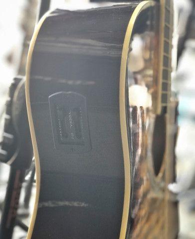 Violão nylon Vogga cutaway elétrico - Foto 5