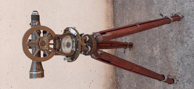 Máquina de topografia Antiga - Foto 3