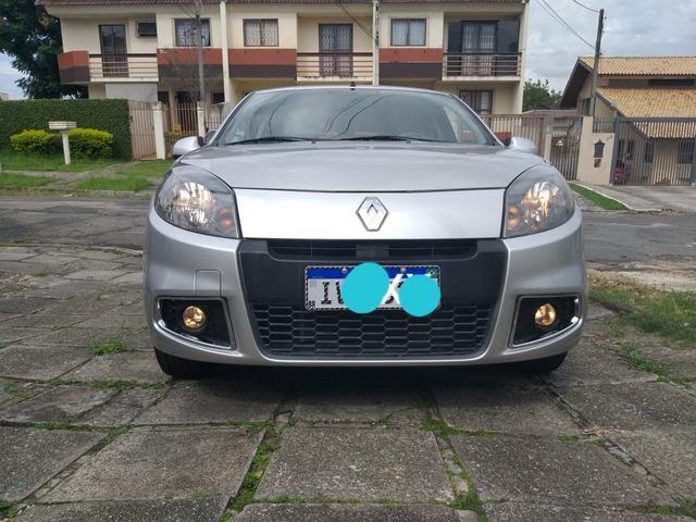 Renault Sandero expression 1.0 completo 2014 troco por moto