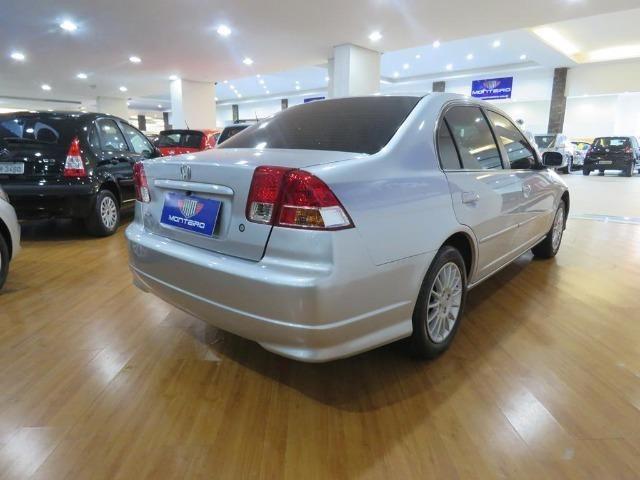 Honda Civic 1.7 EX 16v 4p Automático Blindagem III-A Completo C/ Couro - Foto 2