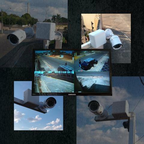 Segurança Eletrônica, Câmeras, Alarmes, Interfones, Cerca Elétrica, Concertina. - Foto 2