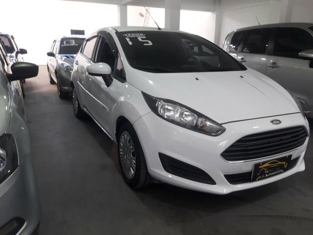 Ford New Fiesta 1.5 Hatch L S Flex 4P Manual c/ GNV (+ pequena entrada) - Foto 2