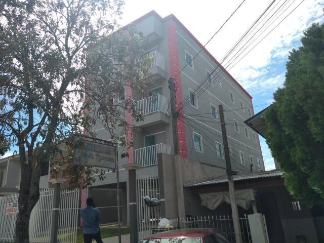 EF/ apartamento em Fazendinha com sacada estacionamento coberto - Foto 6
