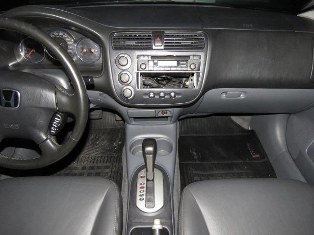 Honda Civic 1.7 EX 16v 4p Automático Blindagem III-A Completo C/ Couro - Foto 11